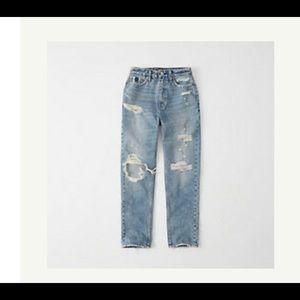 Abercrombie Mom Jeans